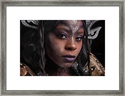 Medusa's Brood Iv Framed Print