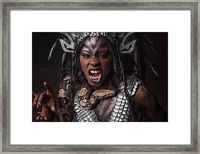 Medusa's Brood Vi Framed Print