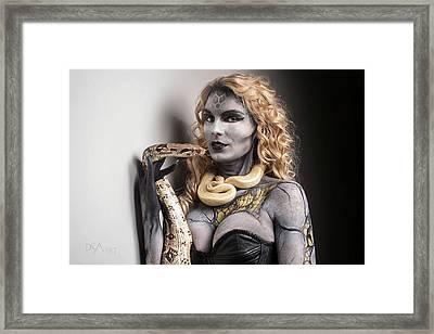 Medusa's Brood Viii Framed Print