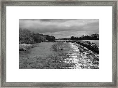 Meelick Weir Framed Print