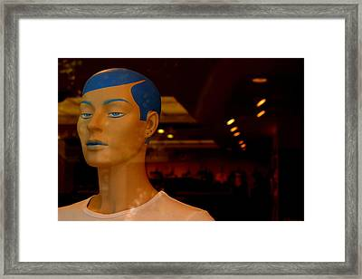 Meenie Framed Print by Jez C Self