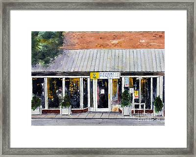 Meet Me At The Merc Framed Print by Tim Ross