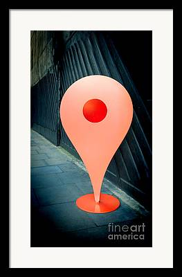 Gps Framed Prints
