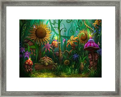 Meet The Imaginaries Framed Print