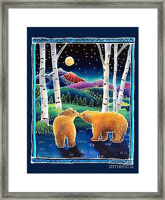 Meeting In The Moonlight Framed Print by Harriet Peck Taylor