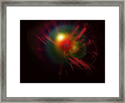 Meeting In The Stars Framed Print by Contemporary Art