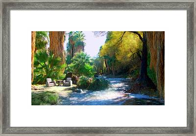 Meeting Place Framed Print by Snake Jagger