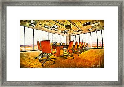 Meeting Room - Da Framed Print