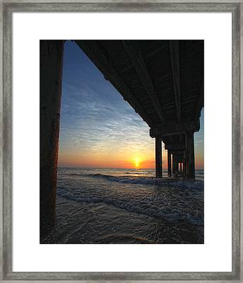 Meeting The Dawn Framed Print
