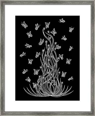 Meeting Up Framed Print