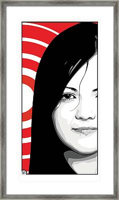 Meg White Of The White Stripes Framed Print