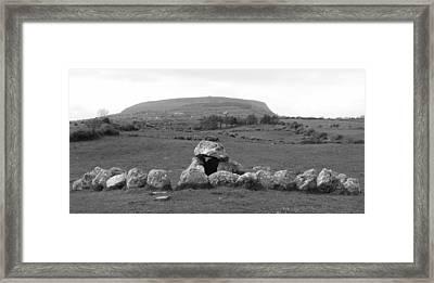 Megalithic Monuments Aligned Framed Print