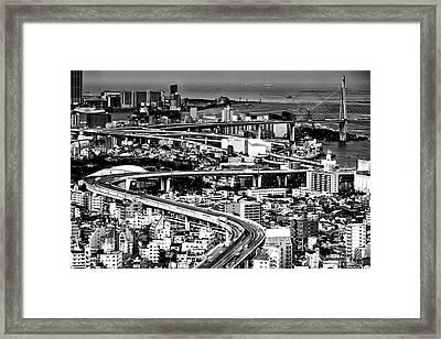 Megapolis Framed Print