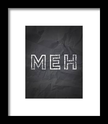 Thoughful Framed Prints