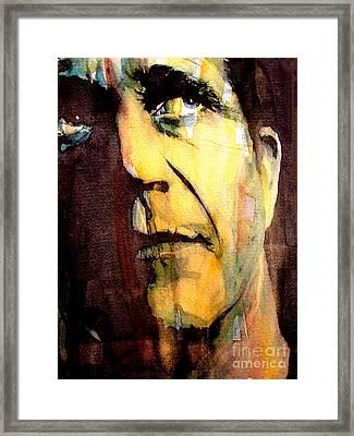 Mel Gibson Framed Print by Paul Lovering