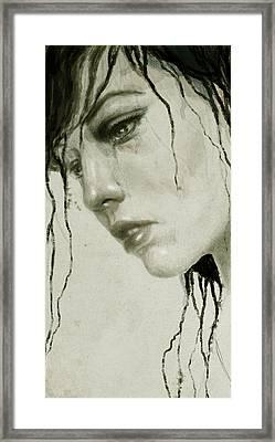 Melancholic Framed Print