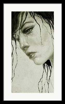 Melancholic Framed Prints
