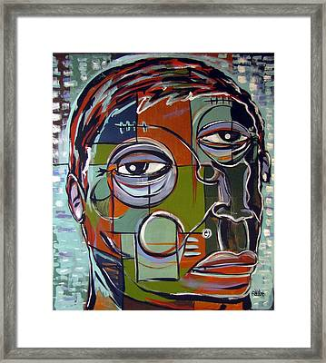 Melancholy Man Framed Print