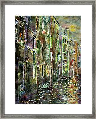 Melanconia Framed Print