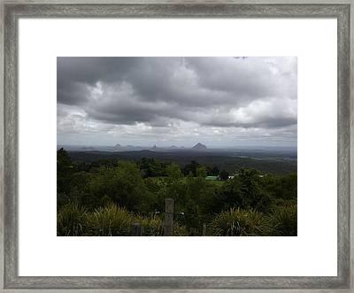 Melany Framed Print