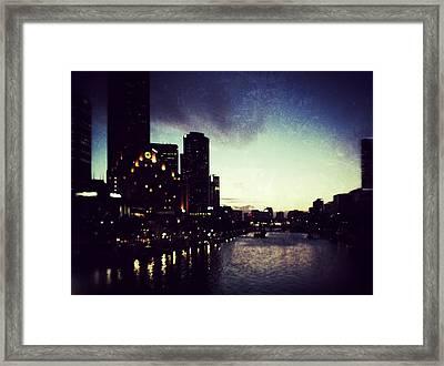 Melbourne Australia Framed Print