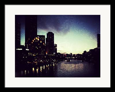 Melbourne Photographs Framed Prints