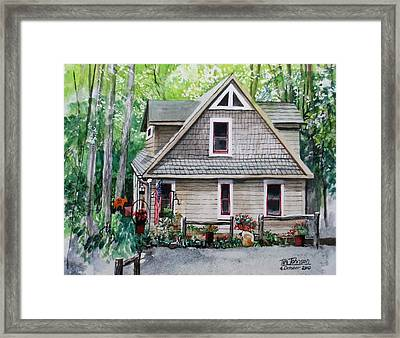 Melissa's Mountain Escape Framed Print by Tim Johnson
