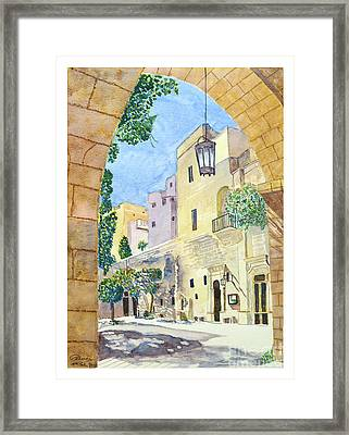 Mellieha Malta Framed Print
