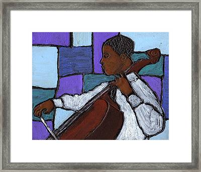 Mellow Blues Framed Print