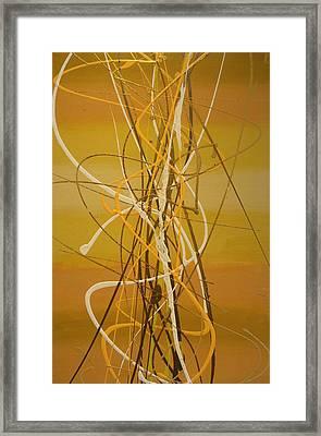Mellow Framed Print by Chel Bieze