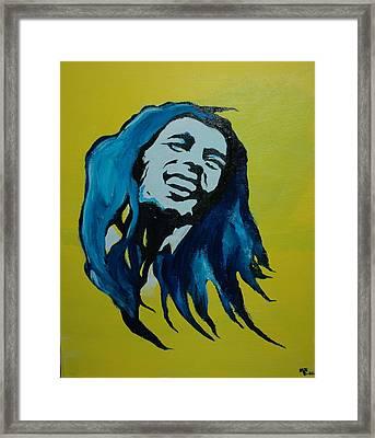 Mellow Marley Framed Print by Matt Burke