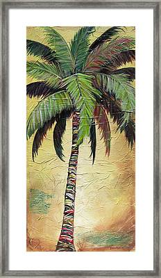Mellow Palm I Framed Print