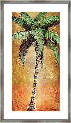 Mellow Palm II Framed Print