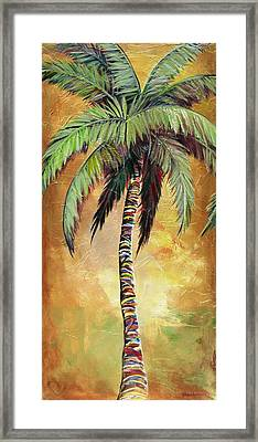 Mellow Palm IIi Framed Print