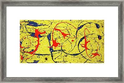 Mellow Yellow Framed Print by International Artist Brent Litsey