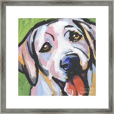 Mellow Yellow Framed Print by Lea S