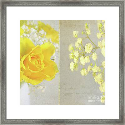 Framed Print featuring the photograph Mellow Yellow by Lyn Randle