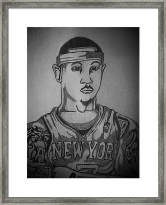 Melo  Framed Print by Ryan Williams