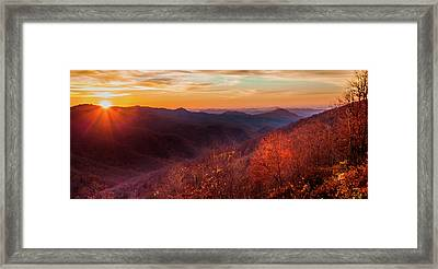 Melody Of Autumn Framed Print