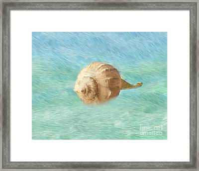 Framed Print featuring the photograph Melody Of The Sea by Betty LaRue