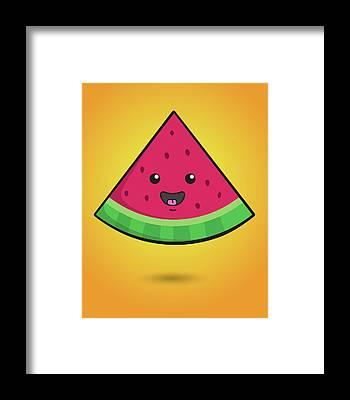 Water-melon Framed Prints