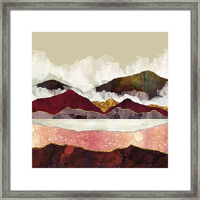 Melon Mountains Framed Print