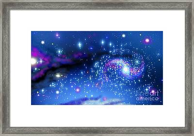 Melonyrenas Starry Night Framed Print by Bob Schmidt