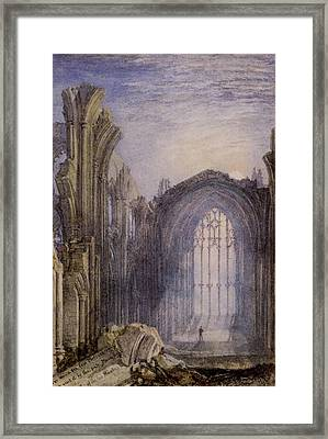 Melrose Abbey Framed Print