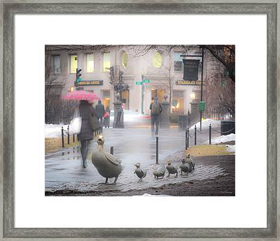 Melt Away Framed Print