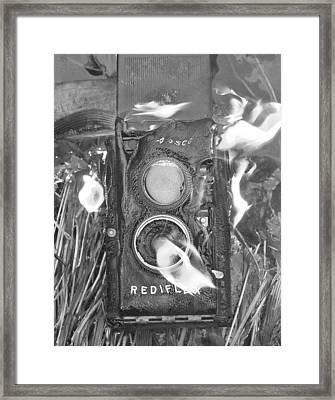 Melt Down Framed Print