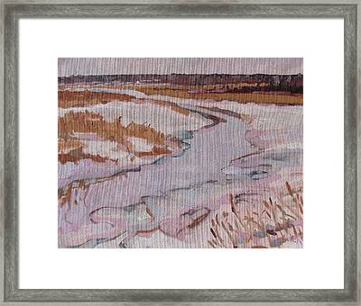 Melt Water Framed Print by Phil Chadwick