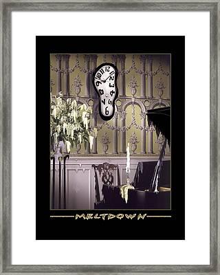 Meltdown Framed Print