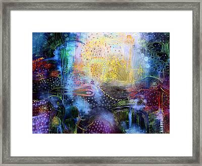 Melted Dream Framed Print by Lolita Bronzini