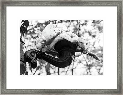 Melted Framed Print